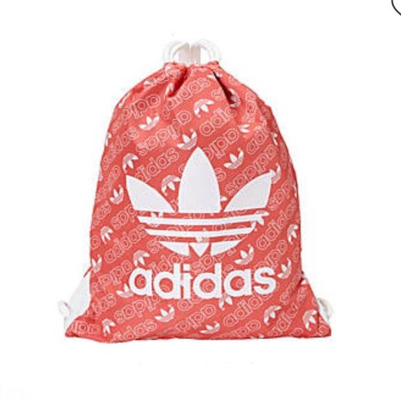 adidas Handbags - New Adidas Original Trefoil sackpack
